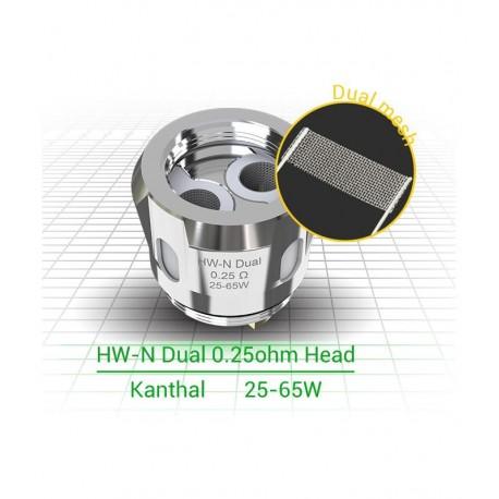 HW-NET DUAL 0.25OHM COIL ELEAF