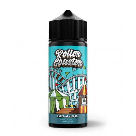 SIN-A-BON 120ML ROLLER COASTER BY VNV & STEAM TRAIN